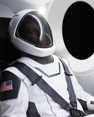 The spacesuit has been tested on Earth and works, says Elon Musk.