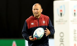 Eddie Jones lost a member of his backroom staff after the exit of Phil Riley.