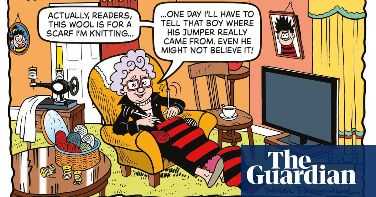 Origin story of Dennis the Menace's jumper to be revealed