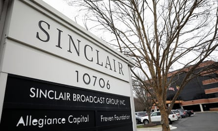 Sinclair is the biggest owner of local TV, and may soon reach 72% of American households if a proposed merger goes through.