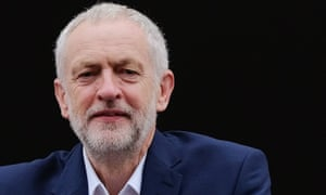 Jeremy Corbyn at the Durham miners' gala.