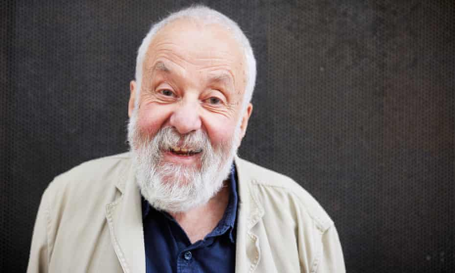 Mike Leigh: 'I'm creating a different culture.'