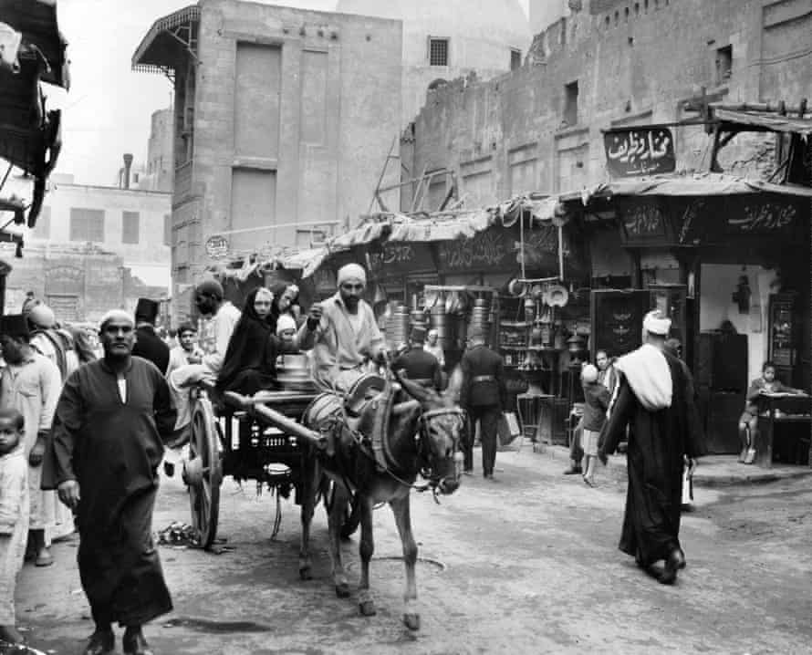 Cairo in the 1950s, home to the Gaafar family in Aswany's story.