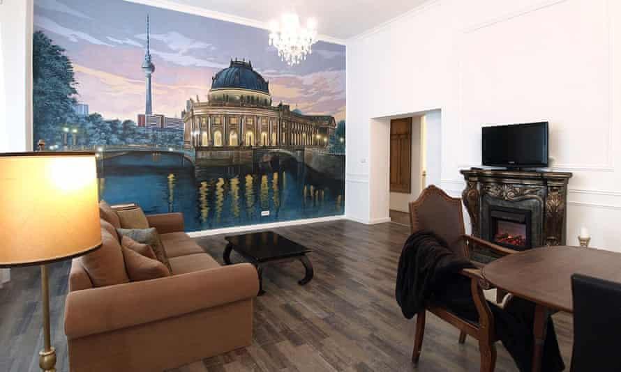 Berlin apartment in the Prenzlauer Berg district