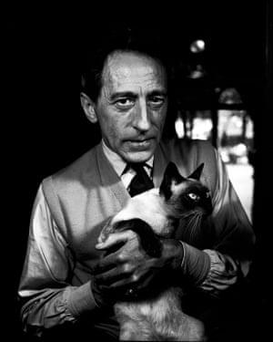 Jean Cocteau in Paris, 1950.