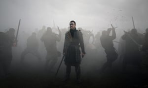 Michael Fassbender as Macbeth in Justin Kurzel's 2015 film.
