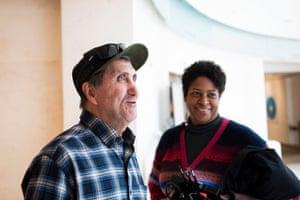Pete Souza and Dawn Porter