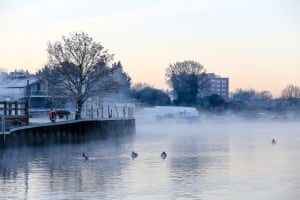 Frosty morning in Kingston-Upon-ThamesPhotograph: Gareth Logue/GuardianWitness