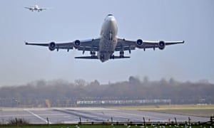Planes at Gatwick airport. The woman was held on Thursday after arriving on a flight from Italy.