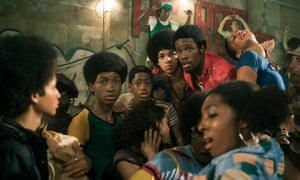 A world of wildstyle graffiti, turntables and burning buildings … The Get Down.