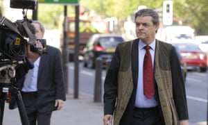 Rhodri Philipps outside Westminster Magistrates Court in London
