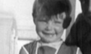 Three-year-old Cheryl Grimmer