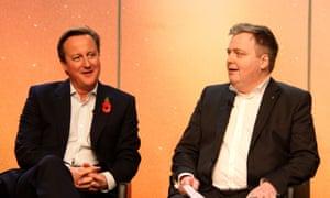 David Cameron and Sigmundur Gunnlaugsson