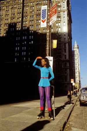 Edna on wheels, 1979