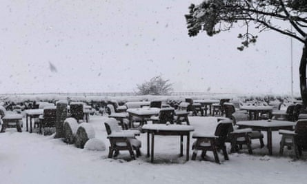 View from the Jamaica Inn on Bodmin Moor made famous by Daphne du Maurier's bestselling novel
