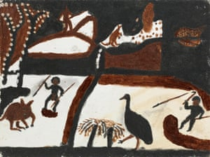 Indigenous art by Madigan Thomas at the National Gallery of Victoria