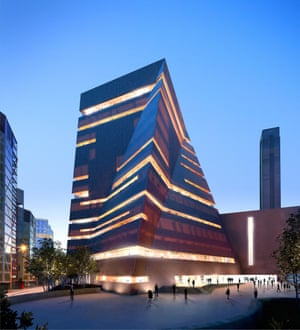 An artist's representation of the Tate Modern extension.