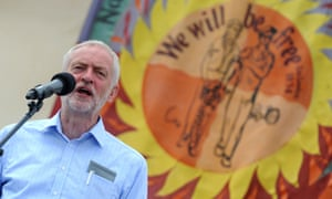 Jeremy Corbyn at the Tolpuddle Martyrs festival