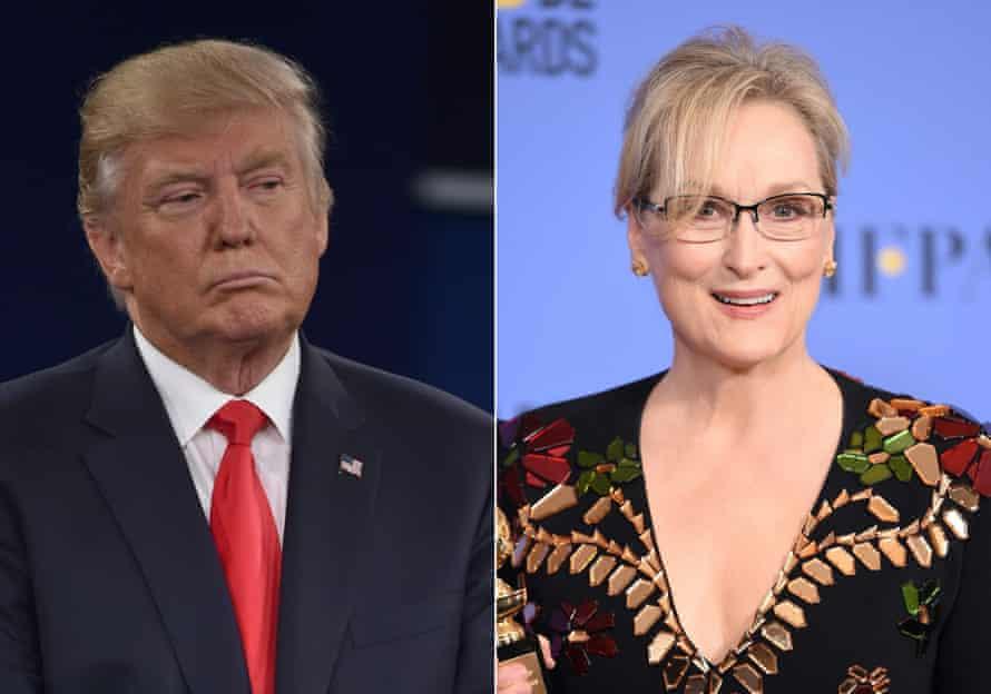 Meryl Streep used her Golden Globes acceptance speech to criticize Donald Trump.