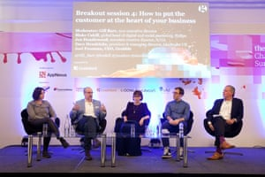 Breakout session: How to put the customer at the heart of your business Jen Heazlewood, associate creative director, R/GA Dave Hendricks, president & managing director, LiveIntent UK Moderator: Gill Barr, non-executive director Daniel Murray, CMO, Grabble Blake Cahill, global head of digital and social marketing, Philips The Guardian Changing Media Summit in central London, 23 March 2016