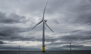 Burbo Bank Extension offshore wind farm, Merseyside