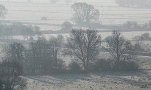 Winter sun on the Somerset Levels
