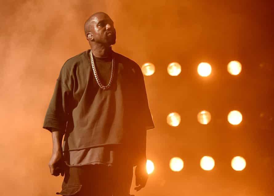 Kanye West performs in Las Vegas in 2015.