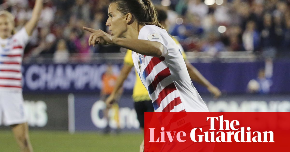 04b05c8d4e4 USA 6-0 Jamaica  Concacaf Women s Championship – as it happened ...