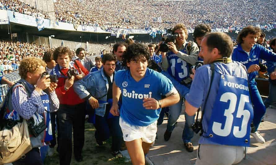 Handyman ... Diego Maradona.