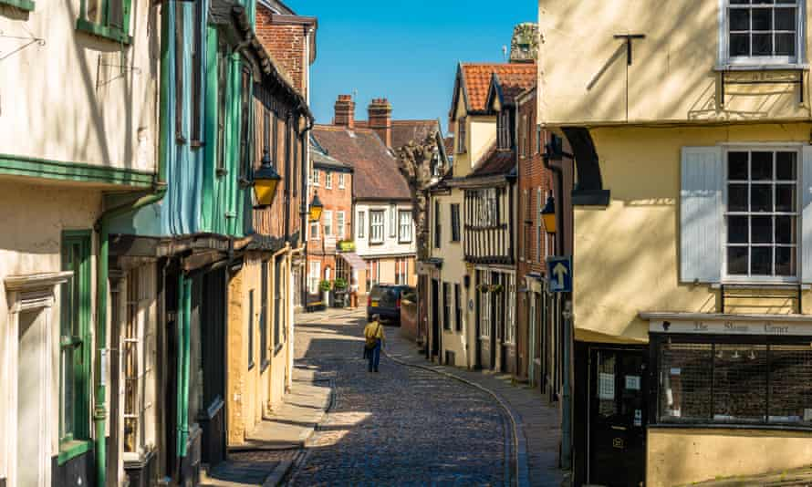 Norwich, one of the places being hit hardest by the economic impact of coronavirus.
