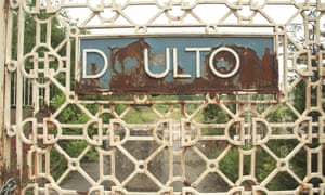Gates at the site of the old Royal Doulton factory.