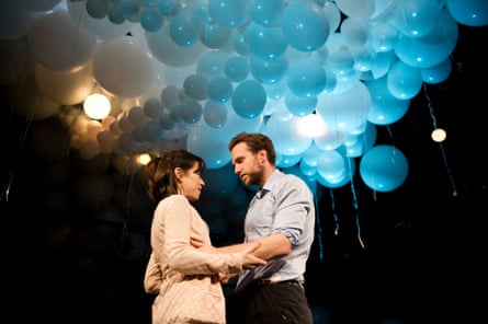 Sally Hawkins and Rafe Spall in Constellations.