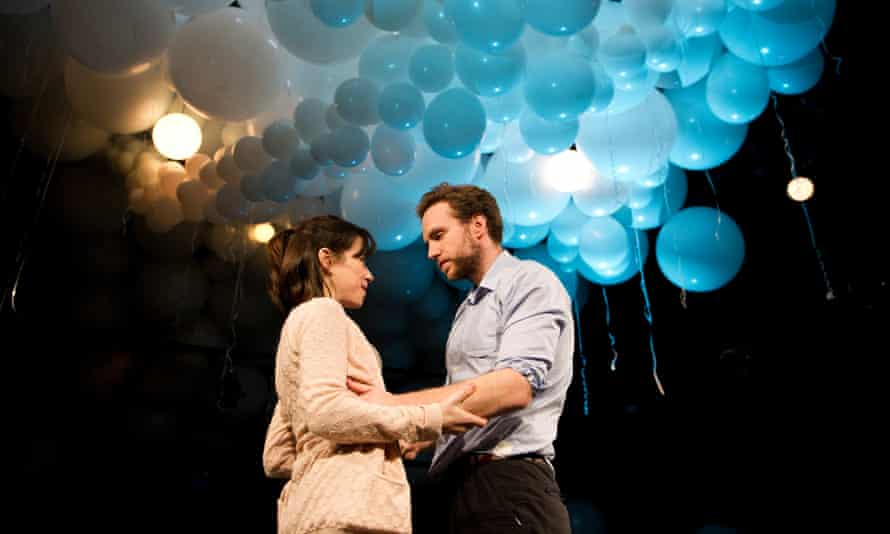 Sally Hawkins and Rafe Spall in Constellations, directed by Michael Longhurst, at the Royal Court in 2012.