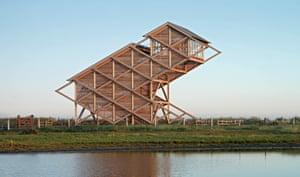 Bird Observation Tower, Graswarder-Heiligenhafen, Germany, Architekten von Gerkan, Marg und Partner, 2005