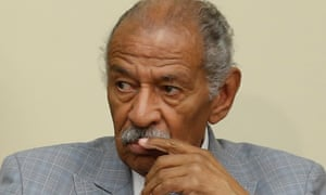 John Conyers, who has stepped aside as the top Democrat on the House judiciary committee, denied wrongdoing through his attorney.