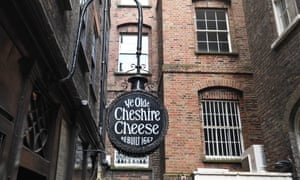 The Ye Olde Cheshire Cheese in central London.