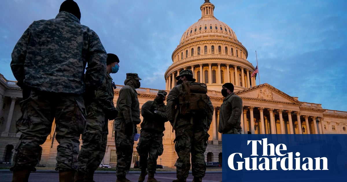 US defense officials fear insider attack on Biden inauguration – The Guardian