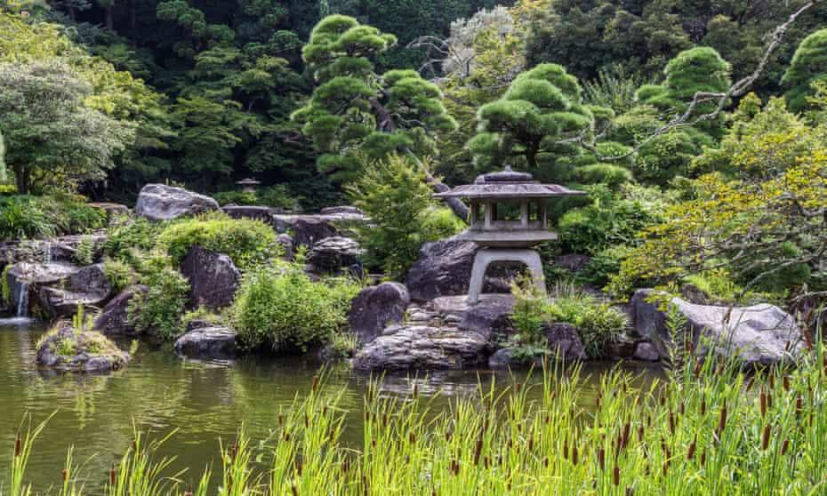 The garden at Naritasan Shinshoji temples.