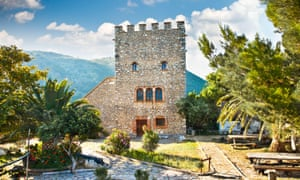 The sixth-century Venetian Tower in the ancient city of Butrint, Albania.