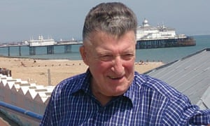 Mark Ricaldone on the seafront near his home in Eastbourne