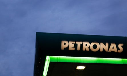 The project is backed by Malaysia's energy giant Petronas.