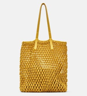Zara knotted tote, £29.99.
