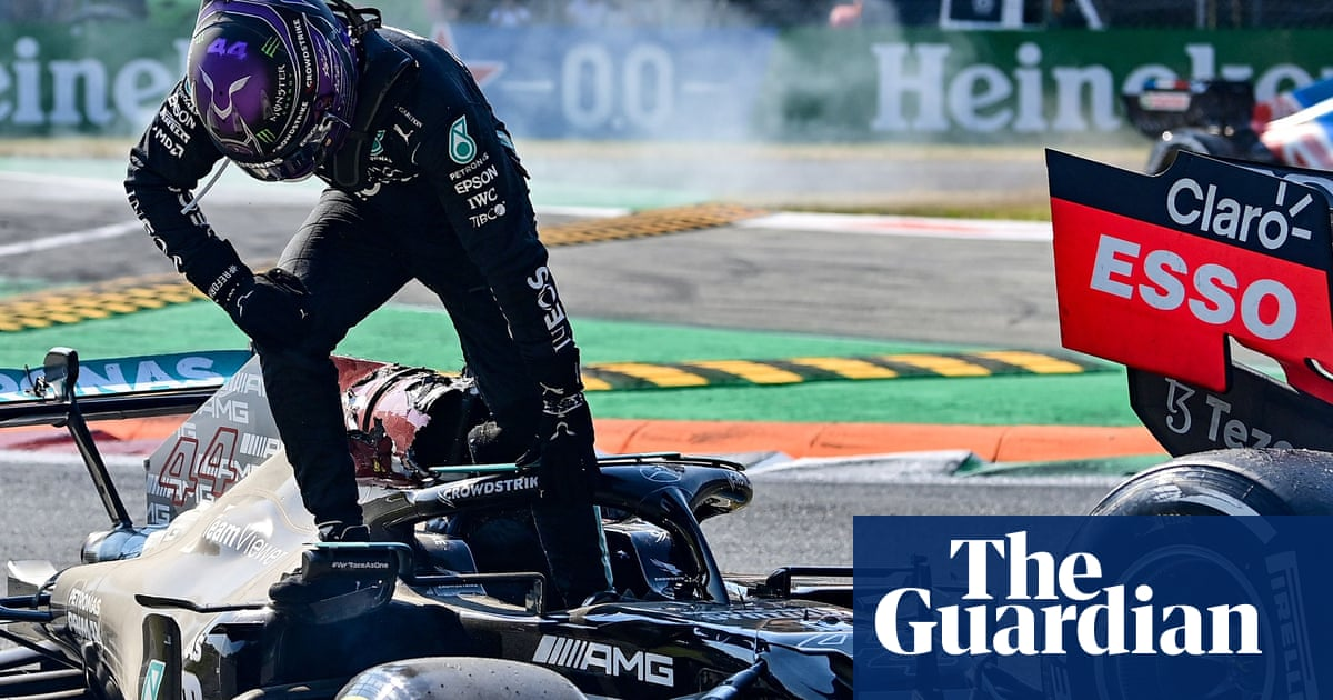 'You realise how fragile we are': Lewis Hamilton still shocked by crash at Monza
