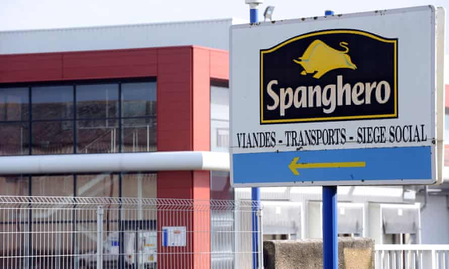 Spanghero, a French supplier of meat