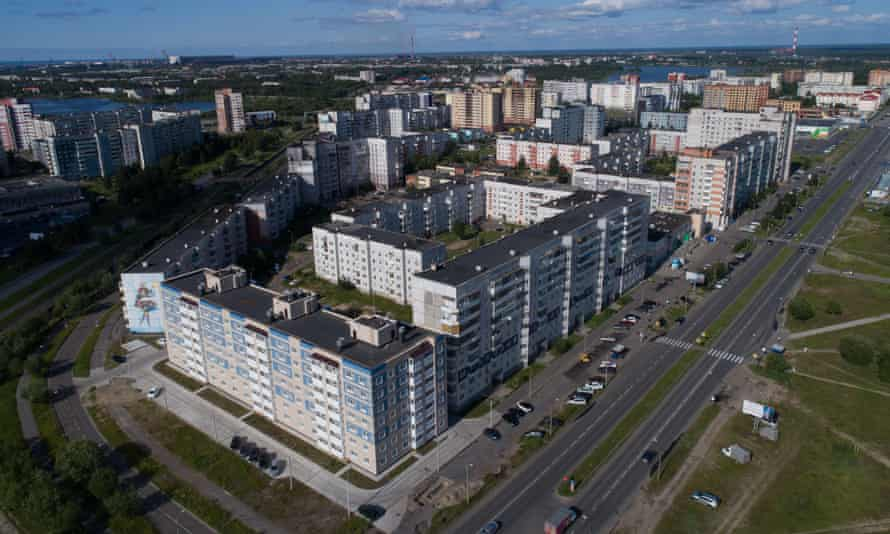 Buildings Severodvinsk