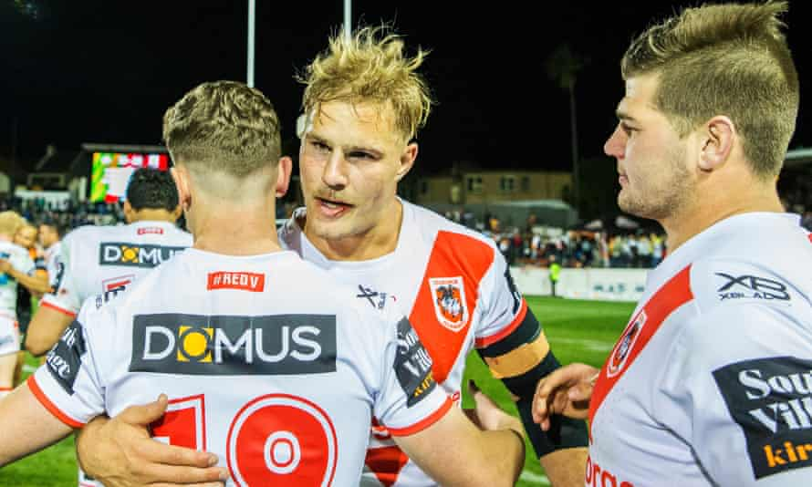 Dragons Set To Keep Jack De Belin Out Of Spotlight In Nrl Opening Round Nrl The Guardian