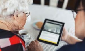 video calling tablet for grandma