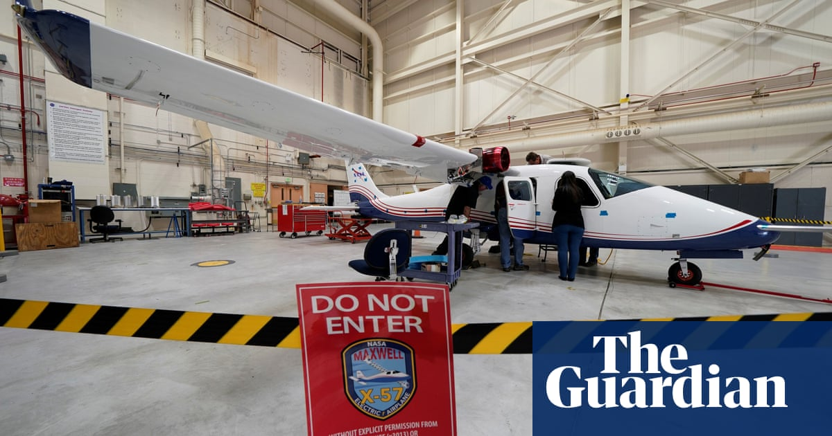 Nasa leads push for electric planes in next frontier of cutting emissions