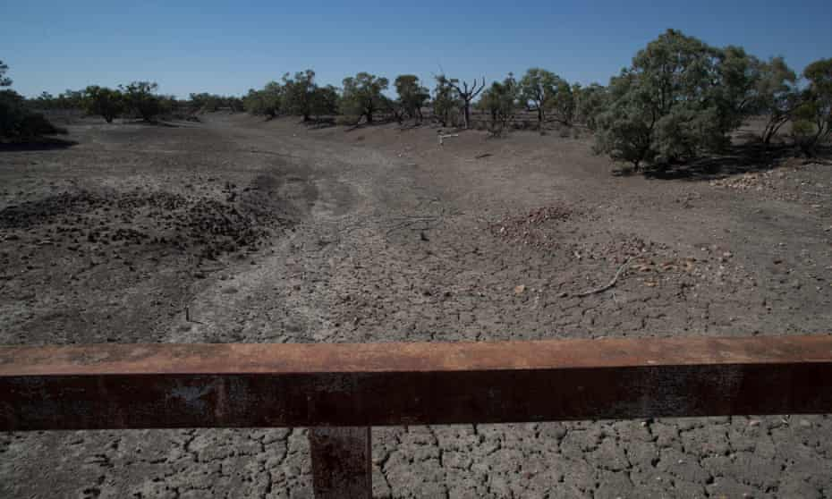 The Paroo river on the Wilcannia to Tilpa road.