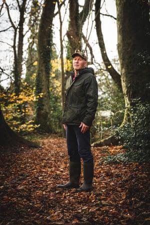 Steve Bool, a volunteer ranger from Friends of Heath Park